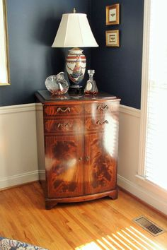 1950 RCA Victor tv cabinet repurposed upcycled vintage to be ...