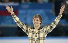 Tomas Verner of the Czech Republic finishes his routine in the men's short program figure skating competition at the Iceberg Skating Palace ...
