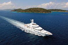 The Alberto Pinto-designed yacht, TV #boating #yachts #sailing #sailboat #luxury