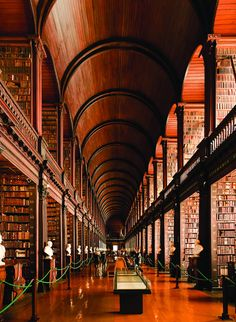 Trinity College Dublin's Library, Ireland Was built in...