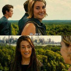 Tori's last smile Divergent Cast, Divergent Fandom, Divergent Insurgent Allegiant, Divergent Quotes, Tfios, Veronica Roth, Shailene Woodley, The Fault In Our Stars, Book Fandoms