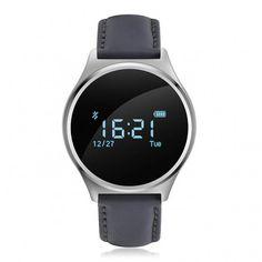 Diseño y funcionalidad se dan la mano en esta #smartband Makibes M7: pulsómetro, podómetro, monitor de sueño y mucho más en un elegante #RelojInteligente ... #smartwatch #technology #wearable