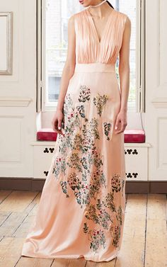 Dorothy Gathered Gown by ALICE ARCHER for Preorder on Moda Operandi