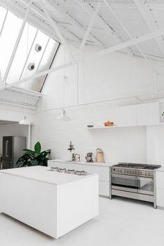 Rye London - a daylight kitchen photography studio in East London