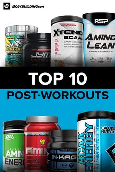 Encourage optimal muscle growth with a post-workout recovery product. These supplements promote muscle repair, replenish energy stores, and reduce muscle breakdown after a grueling workout.