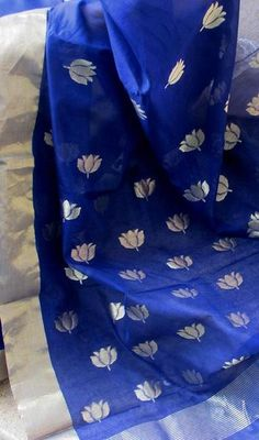 Designer Handcrafted Woven Chanderi Saree