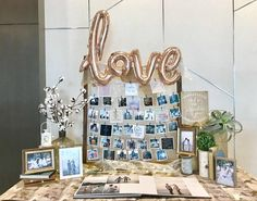 Wedding Photo Display Package – Wedding For My Life Wedding Entrance Table, Wedding Photo Table, Wedding Welcome Table, Reception Table Decorations, Wedding Photo Gallery, Wedding Reception Tables, Wedding Photos, Wedding Decorations, Wedding Photo Displays