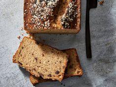 Chocolate-Tahini Banana Bread