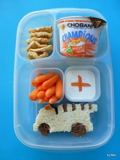 Play with your food! 4 creative lunches to serve the kids.