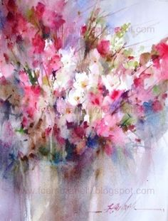 Printemps 1, painting by artist Fabio Cembranelli