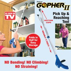 Deluxe Gopher II Pick Up and Reaching Tool