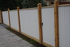 Corrugated Iron Fencing - Top Class Fencing and Gates