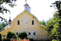 If I had a barn, it would be yellow