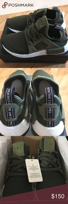 a87d519e7fc87 Adidas NMD New adidas NMD RX1 in olive boys size 7.5 and in women s 9 never