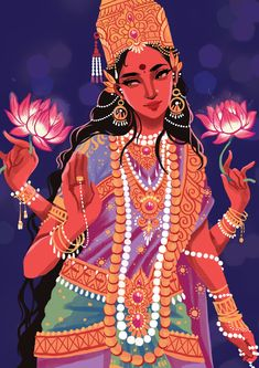 "dzaira:  ""  Lakshmi by solaroid  """