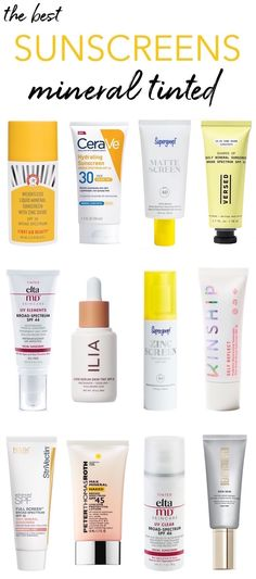 Good Sunscreen For Face, Sunscreen For Sensitive Skin, Facial Sunscreen, Even Out Skin Tone, Dark Skin Tone, Best Sunscreens, Best Face Products, Beauty Products, Tinted Moisturizer