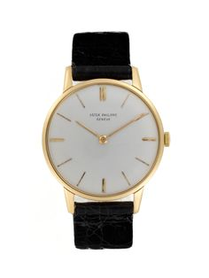 Patek Philippe 18k Yellow Gold Dress (c. 1960s) by Vintage Watches on Park & Bond.
