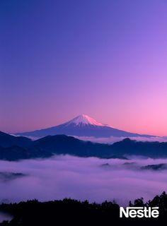 幻想的な富士山も素敵☆ Mt. Fuji!!!!!!