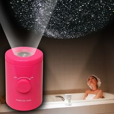Bathroom Planetarium. The coolest gadgets, electronics, geeky stuff, and more! Need this!!!!