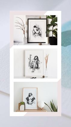 Beautiful and artistic prints where the human body, black and white ink and line art come together to show a collection full of delicacy. Perfect to express your love for art and feminity, these are prints will decorate your home with an elegant and artistic style, with the good taste of nude art and the special touch of elegance in black and white. Click to see the whole collection. Black And White Lines, White Ink, Boho Bedroom Decor, Boho Decor, Feminist Art, Watercolor And Ink, Line Drawing, Human Body, Line Art