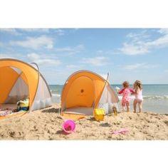 Un tranquillo rifugio in spiaggia per poter fare un pisolino o giocare all'ombra.