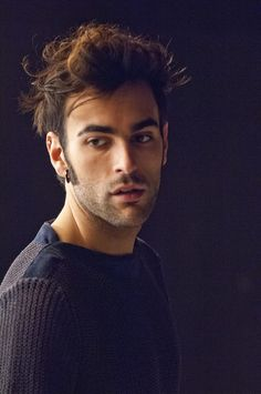 Marco Mengoni - backstage Dall'inferno