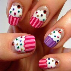 рисунки на ногтях, ногти