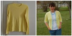 Turn a sweater into a cardigan--I have a few tiny-bit-too-tight sweaters this would be perfect for!