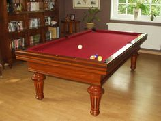 Billard Toulet Empereur Pool Table for Sale - Lowest UK Price Guaranteed - Free Expert Delivery - Free Accessories - Finance Available Cheap Pool Tables, Pool Tables For Sale, Billard Toulet, Pool Table Accessories, Famous French, Red Felt, Slate, Luxury, Bed