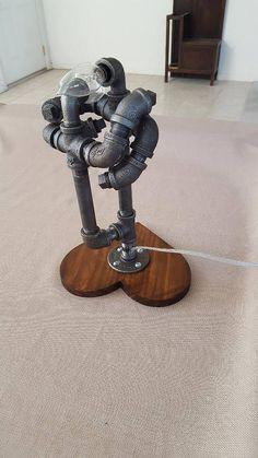The Dance Pipe Lamp Pipe Art