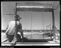 Lightning Ridge New South Wales.  between 1910 and 1962.  by  Frank Hurley, Australian photographer