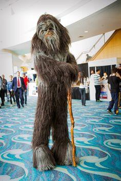 Wookie #Cosplay | Long Beach Comic Con 2012