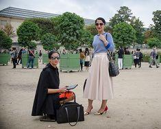 Paris Fashion Week - Tuileries Gardens | THE STYLESEER