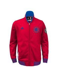 6f50fef46 LA Clippers Authentic Home On Court Full Zip Jacket - Clippers Store