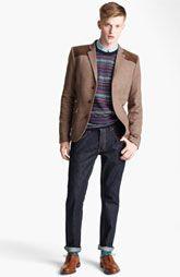 Topman Blazer, Sweater, Shirt & Skinny Jeans