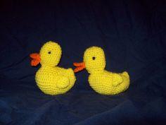Crochet Rubber Ducky van amydscrochet op Etsy