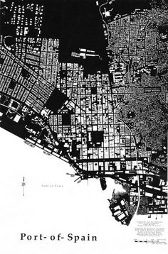 Figure Ground Port-of Spain, Trinadad   Flickr - Photo Sharing!