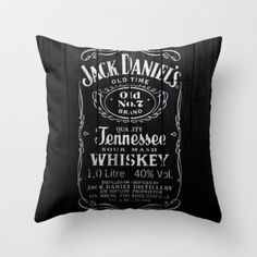 Jack Throw Pillow by Nicklas Gustafsson