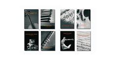 Diseño mensual de los programas de música del MUSEO PICASSO DE MÁLAGA. Madrid, 2011.