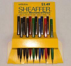 Vintage New Old Stock SHEAFFER Mechanical Pencil WE Assortment ~ 12 Pencils L1