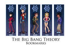 The Big Bang Theory - bookmarks