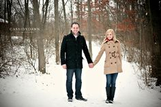 Chillicothe, Columbus & Central Ohio Wedding & Portrait Photography — Cassidy Dawn Photography » winter family photo shoots