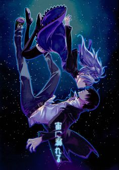 Darker Than Black Doujinshi - To Drown in Space (Hei x Yin)