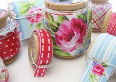 handmade fabric tape...must do this!
