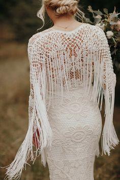 Western Wedding Dresses, Wedding Dress Trends, Bohemian Wedding Dresses, Boho Bride, Fringe Wedding Dress, Wedding List, Chic Wedding, Dream Wedding, Fall Wedding