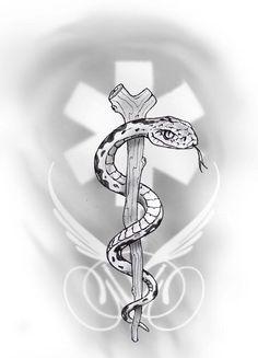 medic alert tattoo by primitive-art