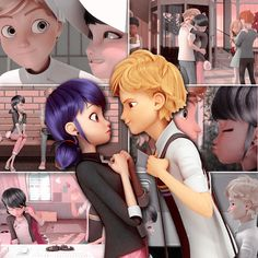 Hello!! My name is Anita, 22, Paris, and I like making gifs~ Adrien is my favourite character and Ladrien is my favourite side. Miraclous Ladybug, Ladybug Comics, Marinette And Adrien, Miraculous Ladybug Anime, Chat Noir Miraculous, Adrien Agreste, Lady Bug, Marionette, Lucky Charm