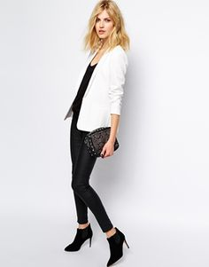 Enlarge Supertrash Tailored Blazer in White