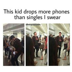 ❤is it his phone or hers?It looks like shes dropping it on purpose and Shawns saving it