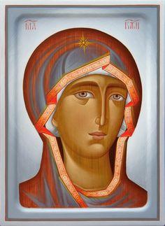 Theotokos by Dragan Jovanovic of Serbia